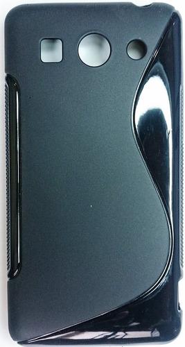 huawei g520 forro + lamina protectora ascend g520 mt6589