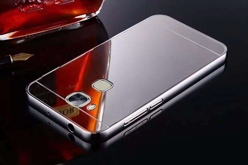 Huawei g8 gx8 funda protector aluminio tipo espejo cristal en mercado libre - Aluminio espejo ...
