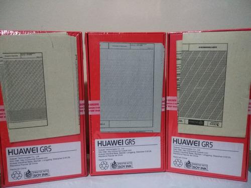 huawei gr5 nuevo - colores plateado y dorado