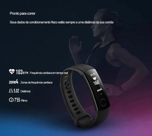 huawei honor band 3 pulseira inteligente smartwatch mi