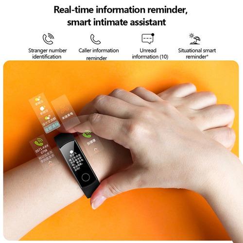 huawei honor banda 4 bluetooth inteligente reloj negro