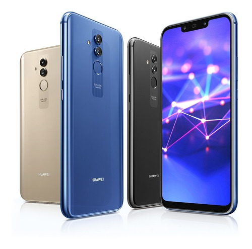 huawei mate 20 lite octacore 4gb/64gb 4 camaras android 8