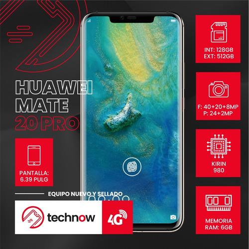 huawei mate 20 pro 128gb 6gb ram libre d fabrica sellado
