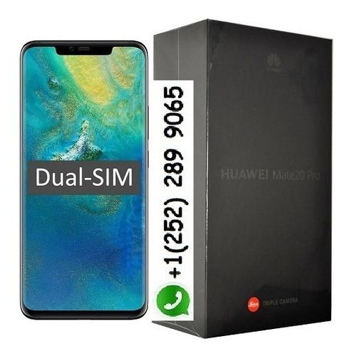 huawei mate 20 pro dual-sim 128gb black factory unlocked 4g