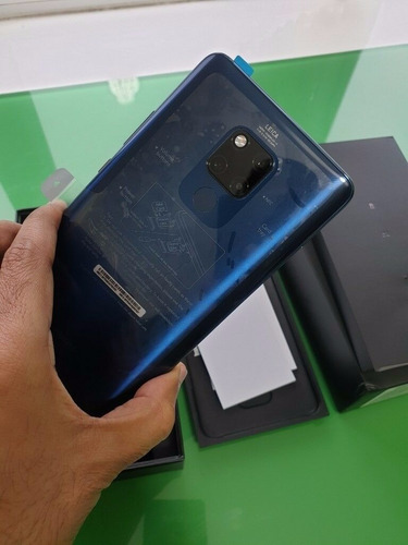 huawei mate 20 x azul 256gb 40mp 7.2  dual sim phone con m-p