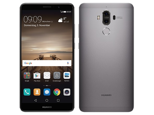 9749a403914fd Huawei Mate 9 2sim 4g 5.9 Ips 64gb Android7 P.entrega Prata - R ...