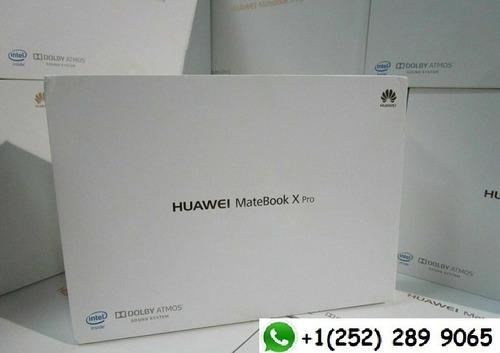 huawei matebook x pro intel i7-8550u 16gb 512gb ssd