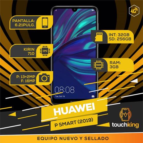 huawei p smart 2019 32gb 3gb ram libr d fabrica- mercad pago