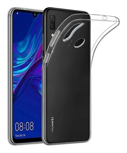 huawei p smart 2019 carcasa transparente gel tpu  - prophone