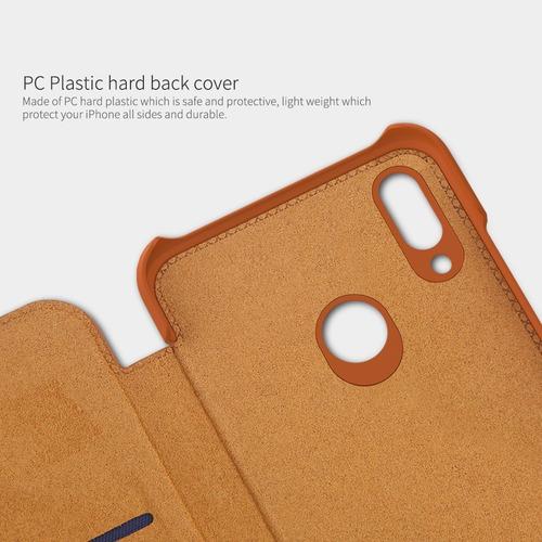 huawei p smart 2019 qin flip + mica vidrio + gel lg g6
