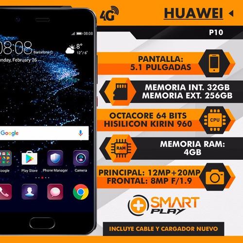 huawei p10 32gb ram 4gb libre de fabrica nuevo - smart play