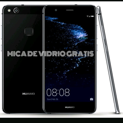 huawei p10 lite 2017+mica/32gb/3gb ram/4g lte/pantalla curv