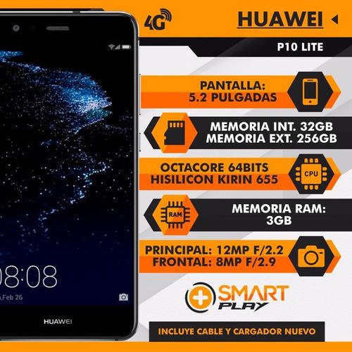 huawei p10 lite 32gb libre de fabrica  nuevo - smart play