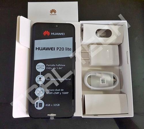 huawei p20 lite 32gb 4gb ram dual cámara  nuevo