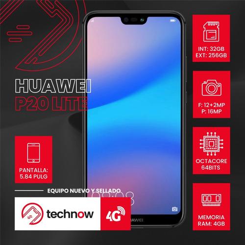 huawei p20 lite 32gb ram 4gb libre de fabrica- mercado pago