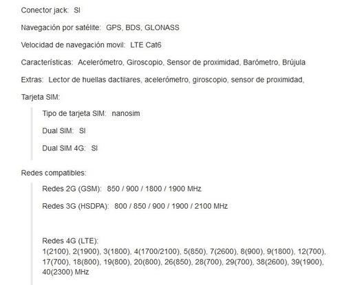 huawei p20 lite ane-lx3 4gb 32gb dual sim duos