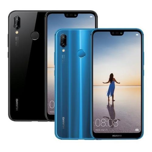 huawei p20 lite nuevo (32 gb) azul y negro