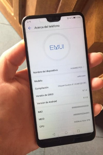 huawei p20 normal como ipod