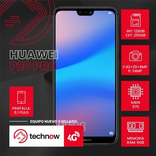 huawei p20 pro 128gb ram 6gb libre fabrica nuevo - negro
