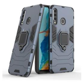Huawei P30 Lite - Carcasa Antigolpes Anillo - Colorcell