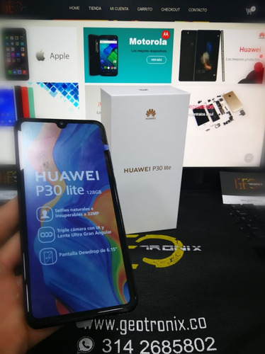 huawei p30 lite 128 gb- geotronix tienda fisica