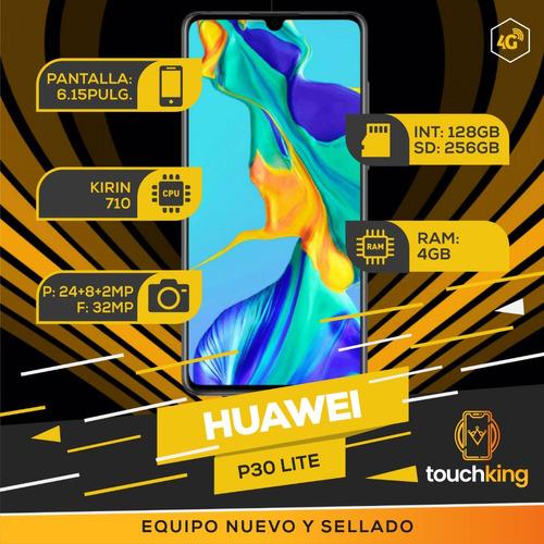 huawei p30 lite 128gb 4gb ram libre de fabrica sellado