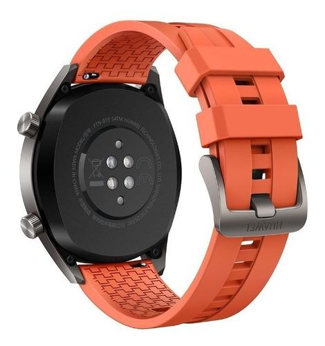huawei p30 pro naranja 256+8gb ram+reloj gt + glamorous case