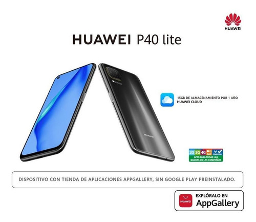 huawei p40 lite ram 6gb rom 128gb negro