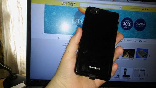 huawei p8 lite liberado con android 6 + funda y vidrio