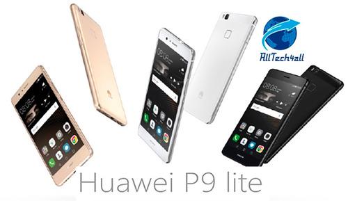 huawei p9 lite, 16gb, dual sim, libre, color blanco.