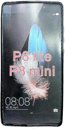 huawei p9 lite forro + lamina protectora p9 lite