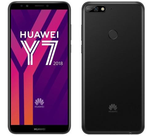 huawei y7 2018 5.99'' /16gb /13mp+8mp / 4g huella ts