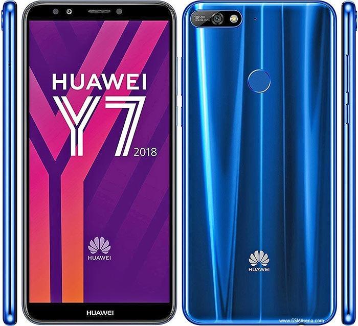 c73ed27aaf8ee Huawei Y7 (2018) Dual Tela 5.99 16gb Camera 13mp - Azul - R  999