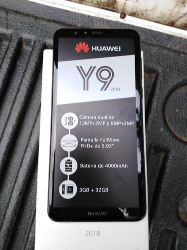 huawei y9 2018 negro