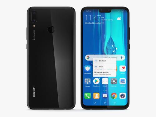 huawei y9 2019 64gb 3gb ram l/fabrica 6.5 + obsequio