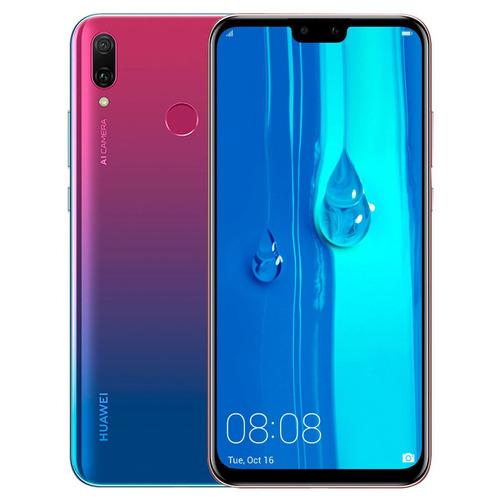 huawei y9 2019 6.5' 64gb 3gb gtía oficial + estuche en loi