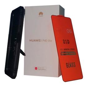 Huaweip40lite + Estuche De Lujo (anillo) + Vidrio Templado