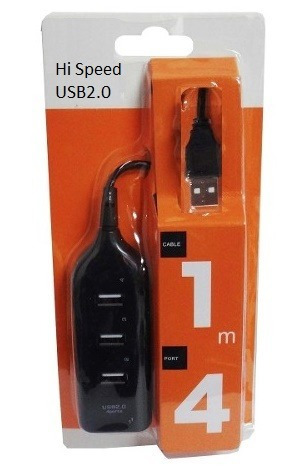 hub extension usb 2.0 de 4 puertos pcs y laptops.