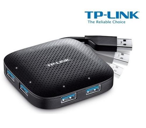 hub multiplicador tplink usb 3.0 + 4 pts + original + new