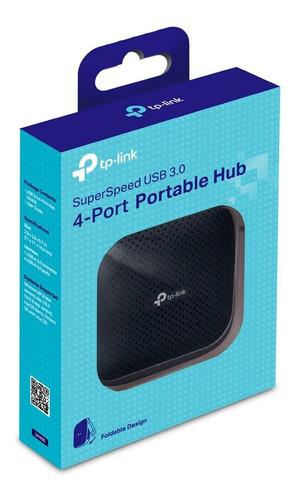 hub portatil tp-link uh400 usb a 3.0 de 4 puertos 5000mbit/s