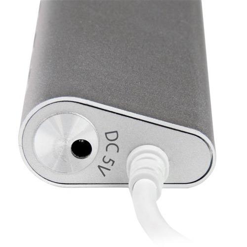 hub startech.com compacto 7 puertos usb 3.0 c/cable+adap 20w