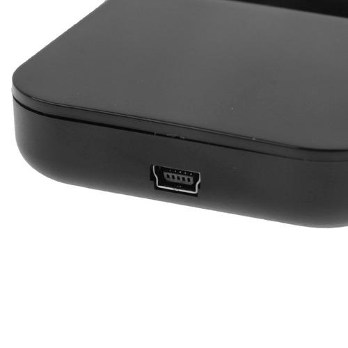 hub usb 2.0 diseño telefono soporte 4 puerto blanco