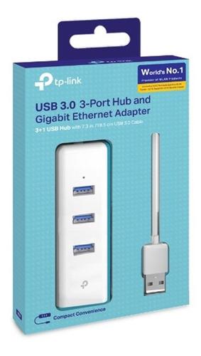 hub usb 3.0 tp link rj45 ue330 gigabit 3 usb in 1 pc