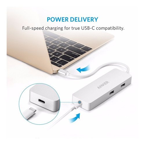 hub usb anker 3.1 tipo c macbook 12 pro 2016 ethernet rj45