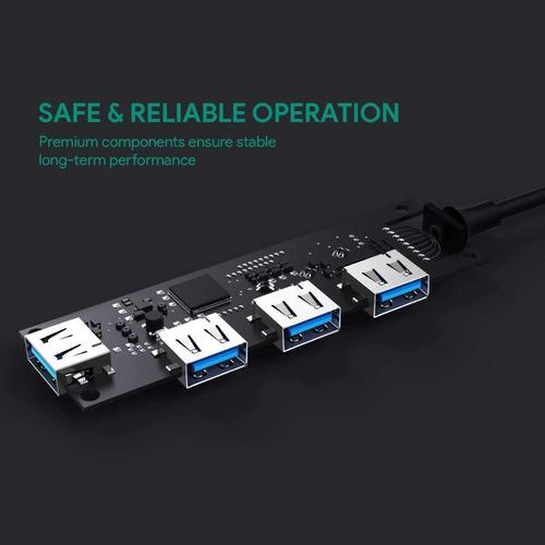 hub usb-c - 4 port usb 3.0 - pc / mac - excelente calidad