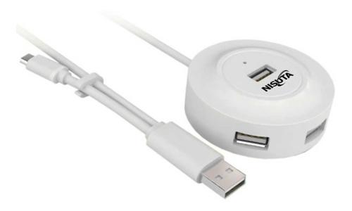 hub usb otg 4 puertos cable datos todo en uno  garantia