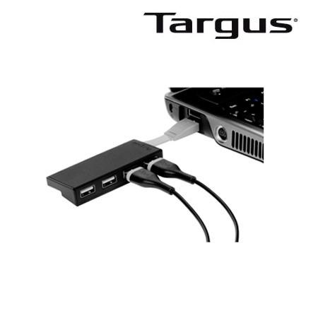 hub usb targus 4 port negro (ach114us-51)