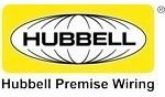 hubbell ifp11bk wallplate faceplate p/ 1 jack keystone negro