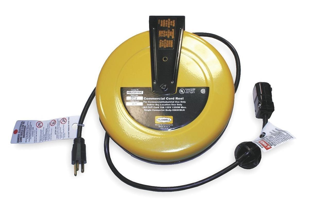 Hubbell Wiring Systems Hblc25163c Carrete De Cable Comerc Commercial Caractersticas Marca