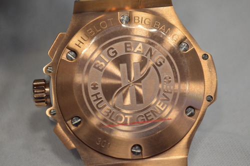 hublot big bang geneve blanco rosa gold